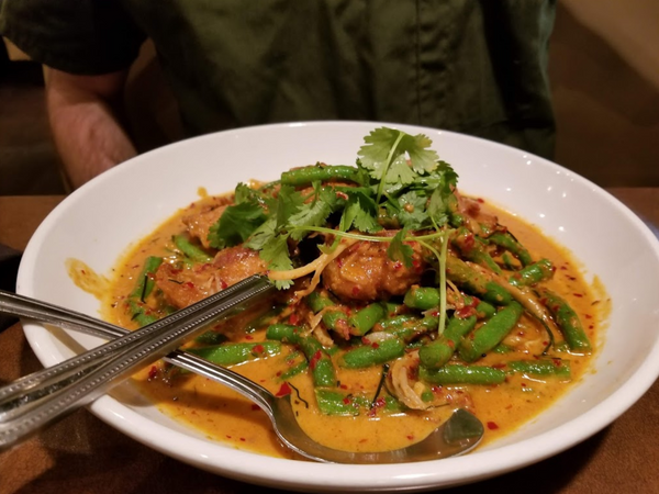 The Food At Ta Ra Rin Thai Cuisine is out of this world.  Be sure to check it out next time you are visiting Eugene, OR.