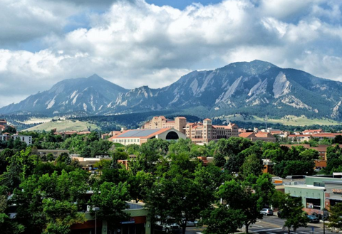 Bouder, Colorado - City View