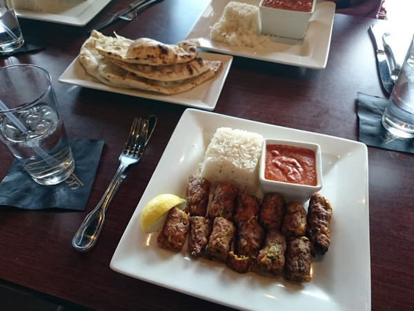 Delicious Indian food can be found at Monsoon, located in Aurora, Colorado.