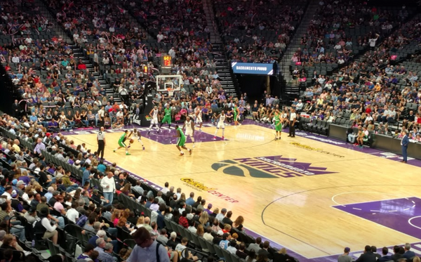 Take in a Sacramento Kings game after a good 420 session.