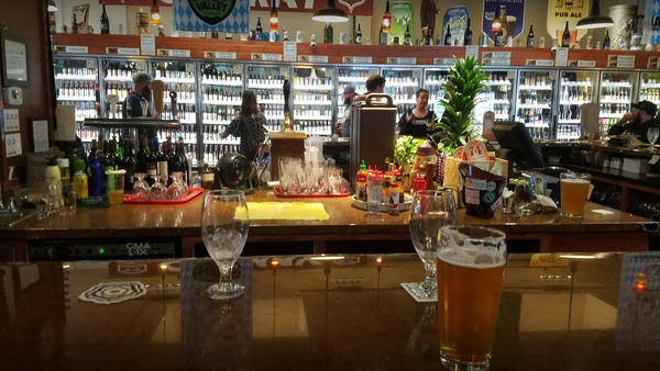 You will be overwhelmed with the selection of beers to be tasted at The Bier Stein in Eugene.