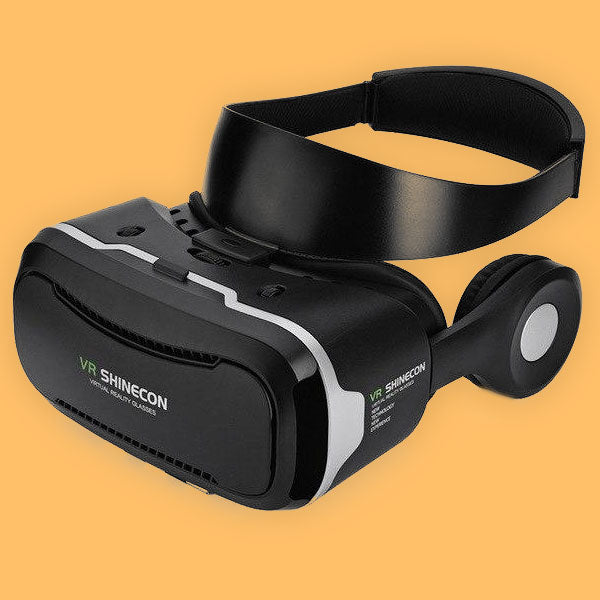 Mirage 3D Android Virtual Reality Glasses with Headset & Gamepad