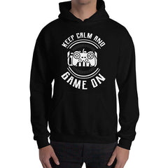 Keep Calm And Game Hoodie