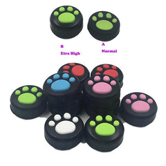 Cat Paw Silicone Analog Caps for Nintendo Switch