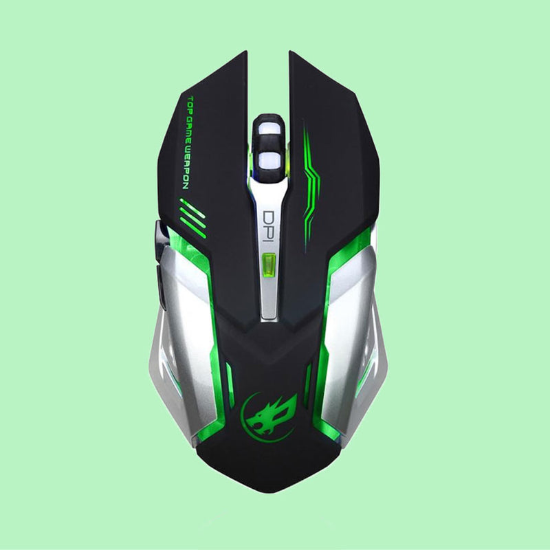 Cybernetic Edition Wireless Mouse - 2400 DPI