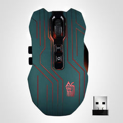 CyberPunk 2.4G Wireless Mouse - 3200DPI