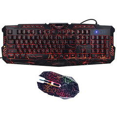 Hellfire Gaming Keyboard & Mouse Combo