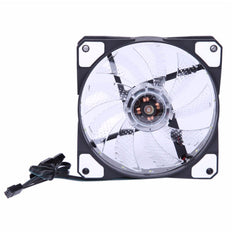 LED Light Desktop Computer Cooling Fans - DIY 5V 3-4Pin