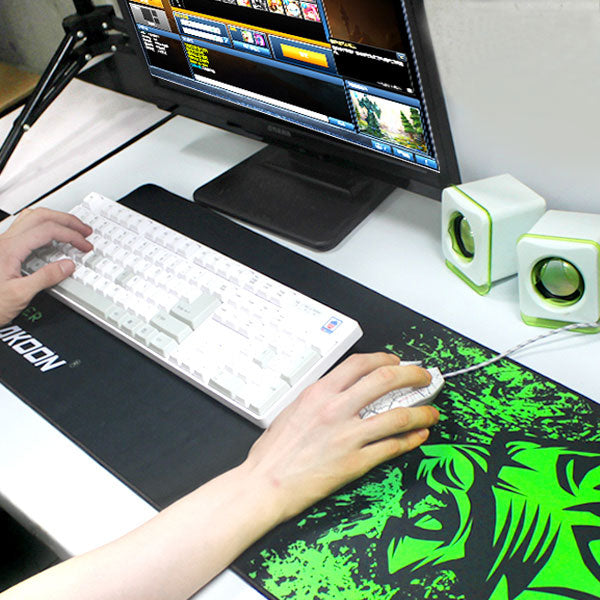 Velocity Large Gaming Mouse Pad & Keyboard Mat