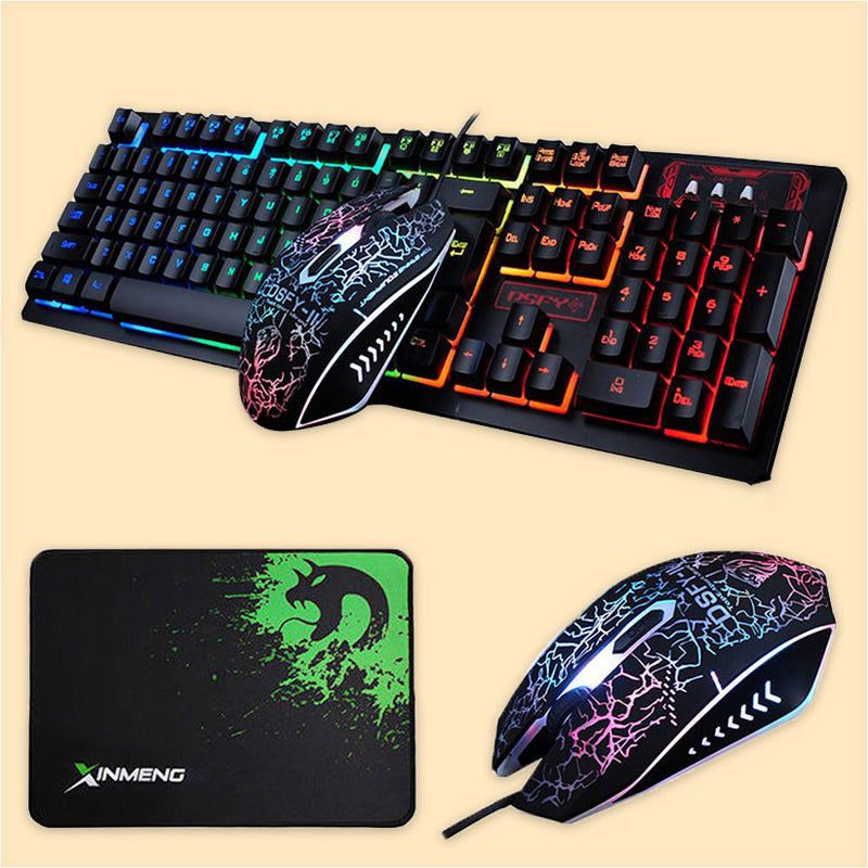 Electrify 3-in-1 Gaming Bundle - Keyboard, Mouse & Mouse pad