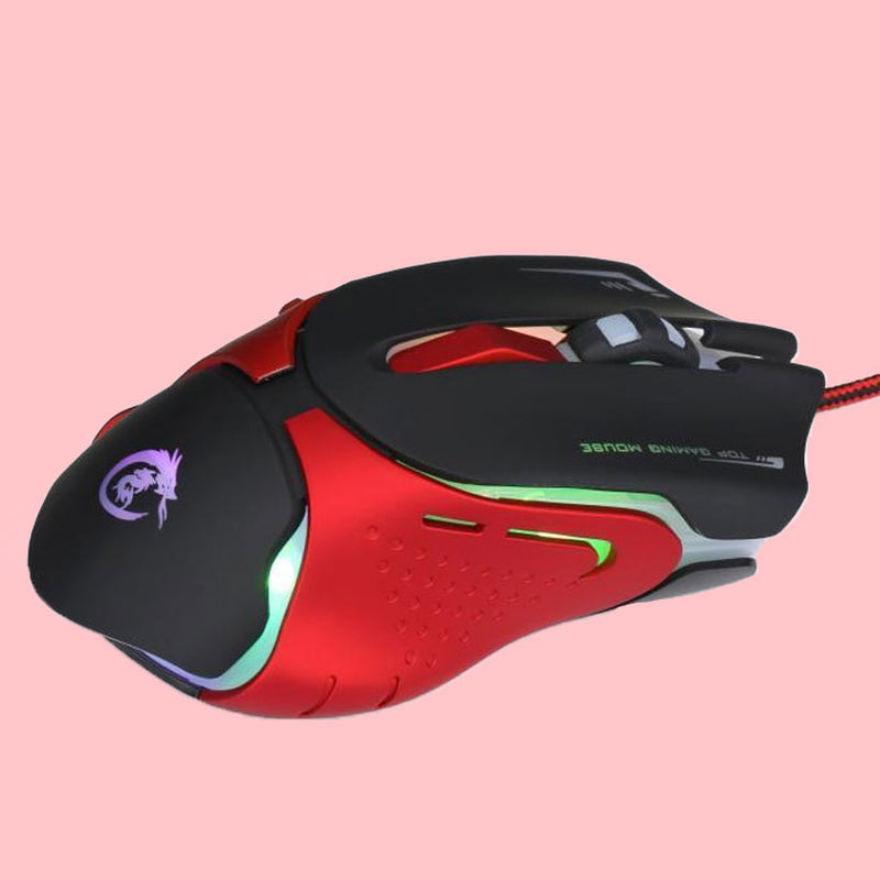 Leatherback Edition Pro Gaming Mouse - 3200 DPI