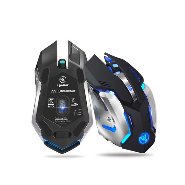 BlueBolt M10 Rechargeable Wireless Gaming Mouse - 7 Color LEDs