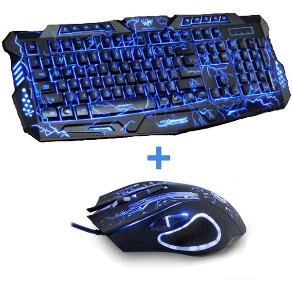 Electrify Gaming Keyboard & Mouse Combo