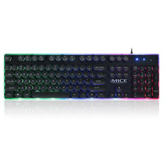 DiscoMate Backlit Mechnical Keyboard - 104 Keys