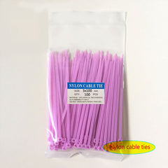 8 Color Nylon Wire Cable Zip Ties
