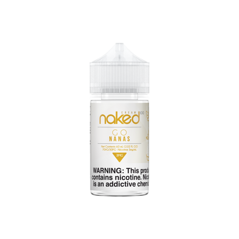 Banana 60mL (Previously Go Nanas) - Naked 100