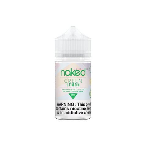 Lemon 60mL (Previously Green Lemon) - Naked 100