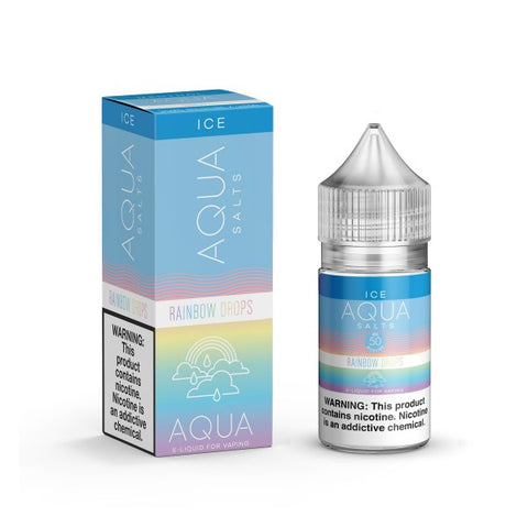 Drops Menthol - Aqua Salts 30ml (Previously Rainbow Drops)