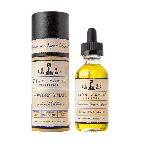 Bowden's Mate - Five Pawns
