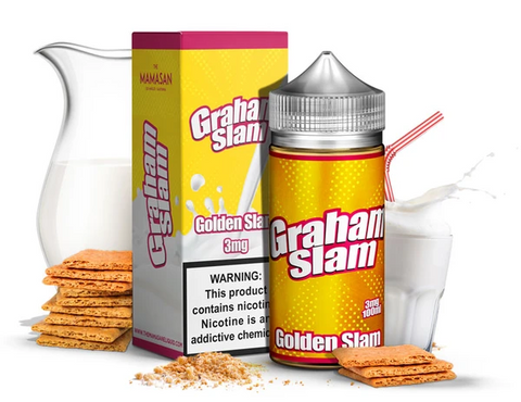 Graham Slam - The Mamasan E-Liquid