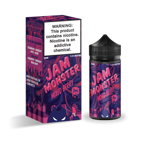 Jam MONSTER - Mixed Berry 100mL