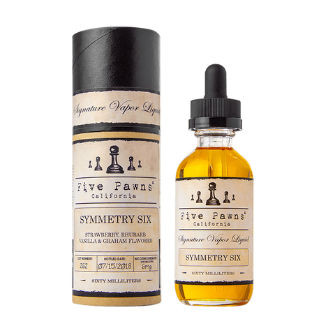 Symmetry Six - Five Pawns