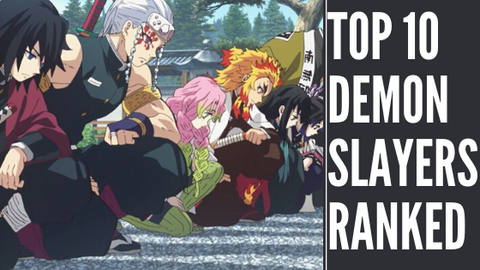 Kimetsu No Yaiba Top 10 Most Powerful Demon Slayers