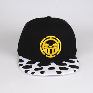 Anime Snapback - One piece Trafalgar Law hat
