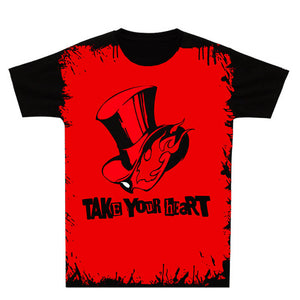Persona 5 - Take Your Heart T Shirt Short Sleeve