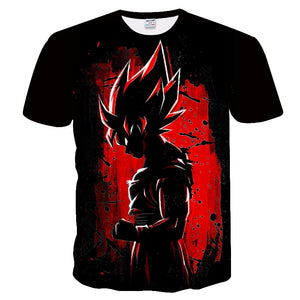 Dragon Ball Super Goku Full Print T Shirt