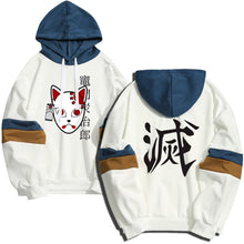 Demon Slayer Kisatsutai Kamado Tanjiro Costume Mask Hoodies