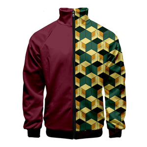 Demon Slayer Giyu Tomioka Track Jacket