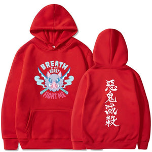 Demon Slayer Inosuke Fight Me Hoodie