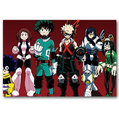My Hero Academia Class 1-A Ready to fight  Poster
