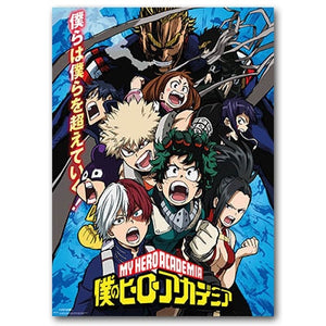 My Hero Academia Class 1-A Poster