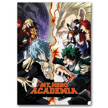 My Hero Academia heroes Vs Villains Poster