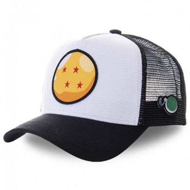 Four star Dragon Ball Embroidered Baseball cap