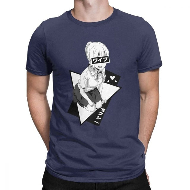 Waifu Anime T- Shirt