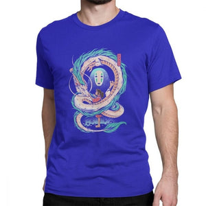 Spirited Away No Face & Dragon T- Shirt