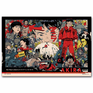 Akira Anime Movie Poster