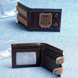 Anime Wallet- Premium Attack on Titan wings of liberty