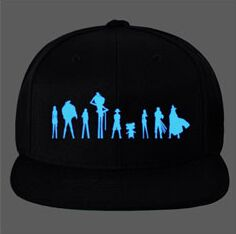 One Piece Glow in dark  Snapbacks