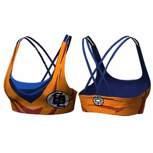 Dragon Ball Z Super- Goku Workout Sports Bra