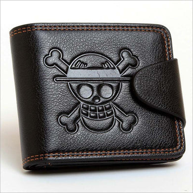 Anime Wallet - Premium One Piece Straw Hat Crew Pu Leather Wallet