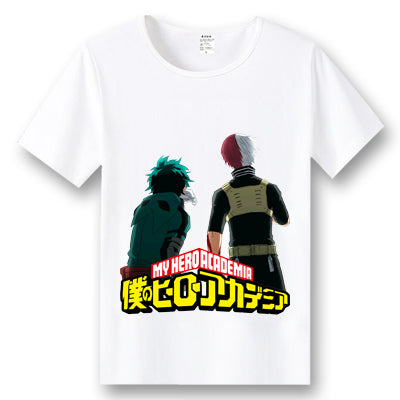 Boku No Hero Academia Deku & Shoto Todoroki T-shirt  My Hero Academia