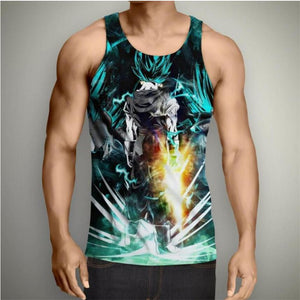 Dragon Ball Z Super- Vegito Sword Tank Top