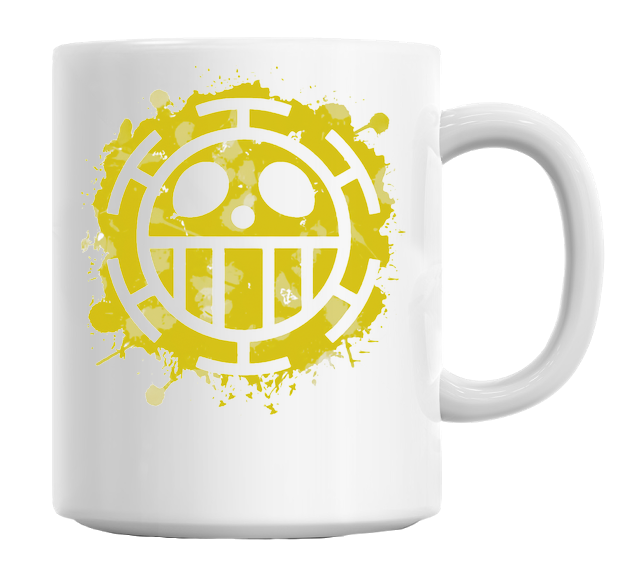 One Piece - Trafalgar Law Heart Pirates Mug