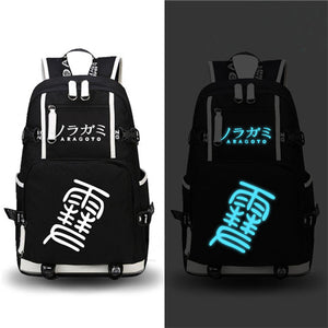 Noragami MekakuCity Glow in dark Laptop Backpack