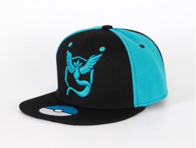 Anime Hat - Pokemon Go Team Mystic Snapback
