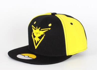 Anime Hat - Pokemon Go Team Instinct Snapback